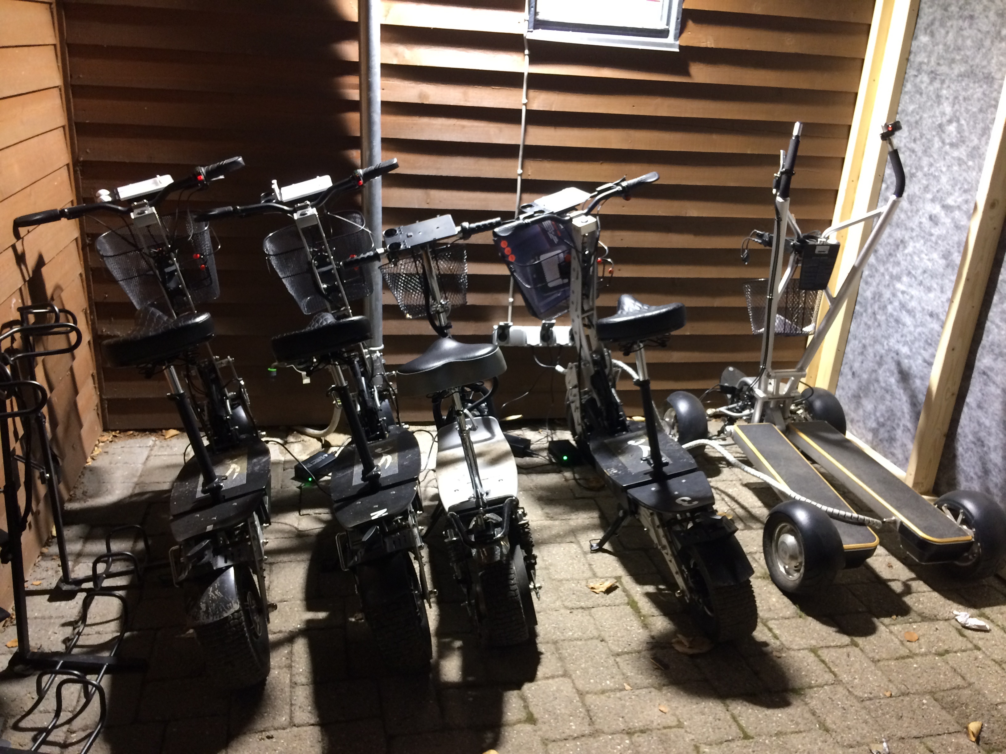 Golfscootere hos Grenaa GK
